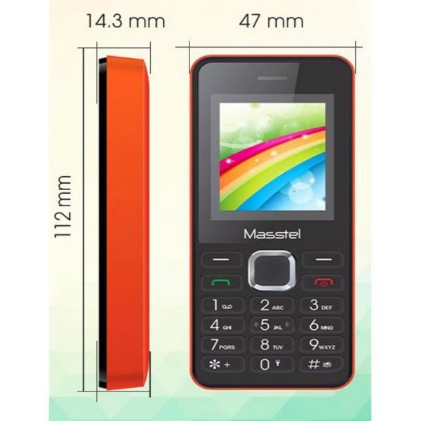 Điện thoại Masstel A119 2 sim 2 sóng đồng thời