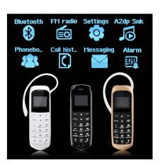 Chiết Khấu Sản Phẩm Điện Thoại Mini Kiem Tai Nghe Bluetooth Vang