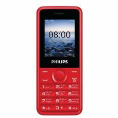 Mua Điện Thoại Philips E106 Đỏ Philips