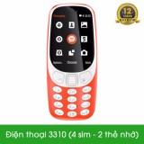 Giá Bán Điện Thoại S 3310 4 Sim 2 Thẻ Nhớ Smobile Tốt Nhất