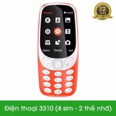 Điện Thoại S 3310 4 Sim 2 Thẻ Nhớ Chiết Khấu Hồ Chí Minh