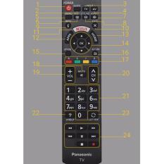 Bán Điều Khiển Tivi Panasonic Internet Dx650 Dx700 Dx900 Đen Panasonic Người Bán Sỉ