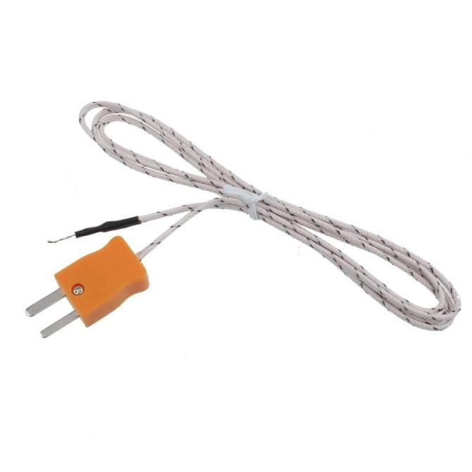 Digital LCD K Type TM 902C Thermometer Single Input Thermocouple Probe intl .
