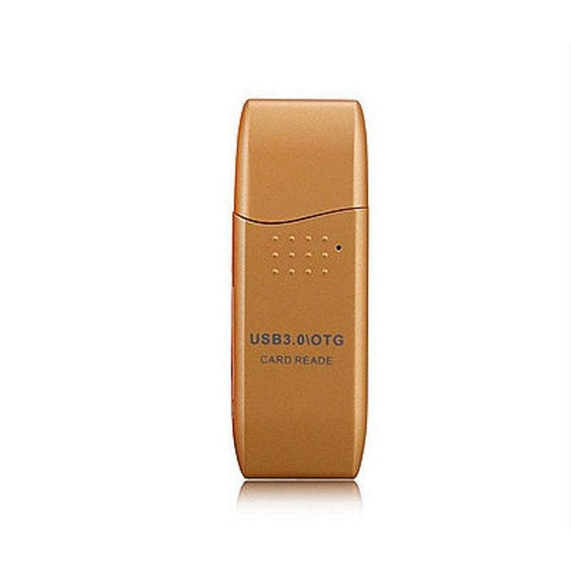 Bảng giá Kỹ thuật số USB3.0 OTG Hai Trong Một Đôi Ổ Cắm SDXC Tốc Độ Cao Bên Ngoài Đầu Đọc Thẻ-quốc tế Phong Vũ