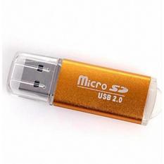 Đọc thẻ nhớ MicroSD vỏ nhôm cao cấp PGH -02