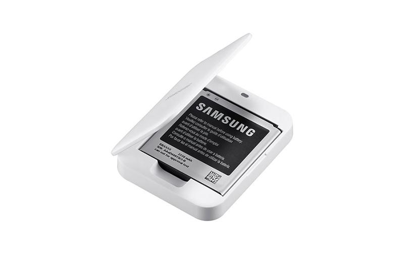 Ôn Tập Dock Sạc Kem Pin Samsung Galaxy S4 Zoom Trắng