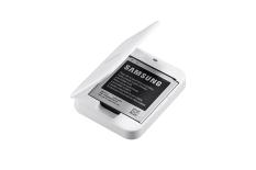Dock Sạc Kem Pin Samsung Galaxy S4 Zoom Trắng Nguyên