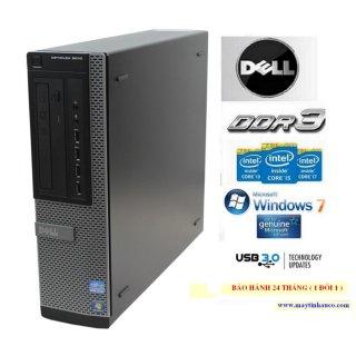 Đồng Bộ Dell Optiplex 9010 ( Core I5 3470 4G Ssd 128G ) - Hàng Nhập Khẩu (Đen) thumbnail