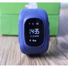 Đồng Hồ Định Vị Giam Sat Trẻ Em Thong Minh Gps Smartwatch Mau Xanh Xam Oem Chiết Khấu