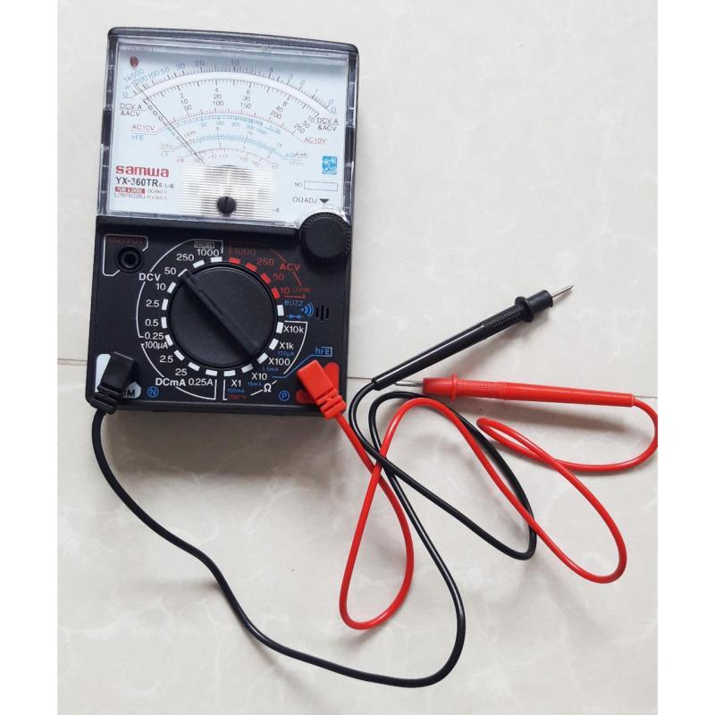 Đồng hồ đo vạn năng cho thợ sửa chữa điện thoại YX-360TR kèm pin
