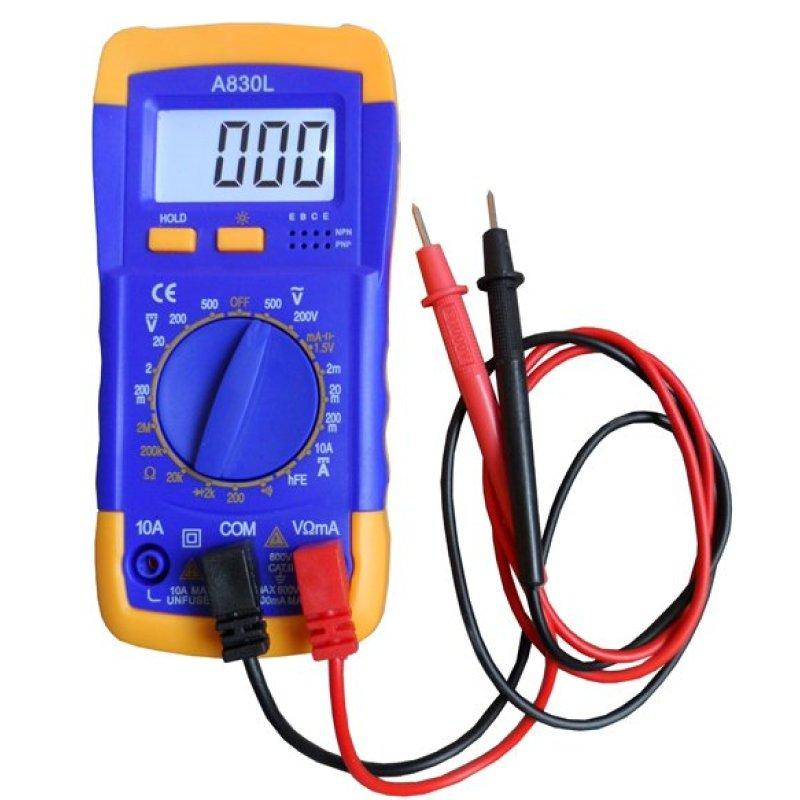 Đồng hồ đo vạn năng Digital Multimeter A830L - PT (Xanh phối vàng)