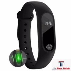 Hình ảnh đồng hồ theo dõi sức khỏe - Vòng đeo tay thông minh đa năng cao cấp, kết nối Bluetooth, Đo nhịp tim, BH bởi Shop Tien Thinh