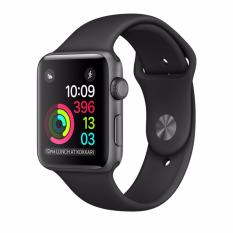 Ôn Tập Đồng Hồ Thong Minh Apple Watch Serie 2 42Mm Space Gray Aluminum Case With Black Sport Band Apple