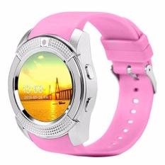 Đồng hồ thông minh có khe sim mặt tròn Smartwatch ZV88