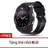 Cửa Hàng Đồng Hồ Thong Minh Co Khe Sim Mặt Tron Smartwatch Zv88 Tặng Thẻ Nhớ 4Gb Trong Hồ Chí Minh