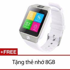 Giá Bán Đồng Hồ Thong Minh Co Khe Sim Smart Watch Gt09 Kem Thẻ Nhớ 8Gb Trắng Trong Hồ Chí Minh