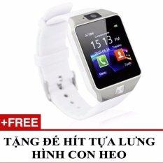 Mua Đồng Hồ Thong Minh Hỗ Trợ Sim Điện Thoại Smartwatch Dz09 Tặng 1 Đế Hit Gia Đỡ Con Heo Rẻ Hồ Chí Minh