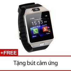 Giá Bán Đồng Hồ Thong Minh Inwatch C Đen Bạc Tặng 1 But Cảm Ứng Mới
