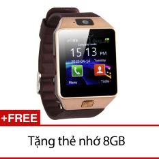 Đồng Hồ Thong Minh Inwatch C02 Vang Đồng Tặng 1 Thẻ Nhớ 8Gb Rẻ