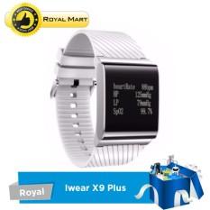Hình ảnh Đồng hồ thông minh IWEAR X9 Plus - Đo nhịp tim, huyết áp nồng độ oxy