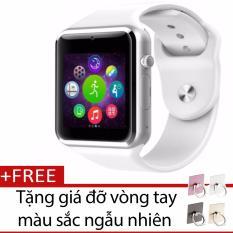 Bán Đồng Hồ Thong Minh Smart Watch A1 Gắn Sim Độc Lập Trắng Tặng Gia Đỡ Vong Tay Thong Minh Mau Sắc Ngẫu Nhien Rẻ Nhất