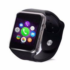 Hình ảnh Đồng hồ Thông minh Smart Watch A1 Version cải tiến (Viền Đen Dây Đen)