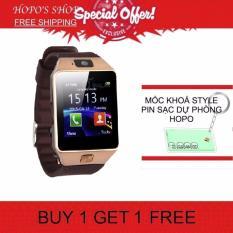 Cửa Hàng Đồng Hồ Thong Minh Smart Watch Uwatch Dz09 Vang Hang Nhập Khẩu Tặng Moc Khoa Sạc Dự Phong Dz09 Hồ Chí Minh