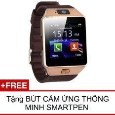 Chiết Khấu Đồng Hồ Thong Minh Smart Watch Uwatch Dz09 Vang Hang Nhập Khẩu Tặng Viết Cảm Ứng Smartpen Smart Watches Hồ Chí Minh