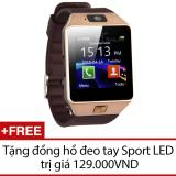 Chiết Khấu Đồng Hồ Thong Minh Smart Watch Uwatch Dz09 Vang Tặng 1 Đồng Hồ Đeo Tay Sport Led Có Thương Hiệu