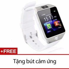Cửa Hàng Đồng Hồ Thong Minh Smartwatch Inwatch C01 Bạc Titan Tặng 1 But Cảm Ứng Inwatch Trực Tuyến
