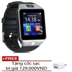 Bán Đồng Hồ Thong Minh Smartwatch Inwatch C2 Xam Đen Tặng 1 Cốc Sạc Nguyên