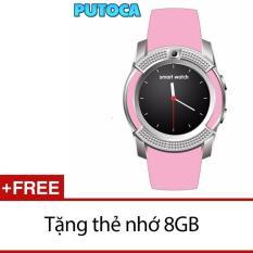Chiết Khấu Đồng Hồ Thong Minh Smartwatch Putoca V8 Plus Gắn Sim Độc Lập Tặng Thẻ Nhớ 8Gb Hồ Chí Minh
