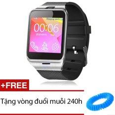 Cửa Hàng Đồng Hồ Thong Minh Smartwatch Smart Gv18 Đen Tặng 1 Vong Đuổi Muỗi 240H Trong Hồ Chí Minh