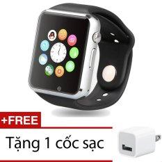 Mua Đồng Hồ Thong Minh Smartwatch Uwatch W88 Đen Tặng 1 Cốc Sạc Hồ Chí Minh
