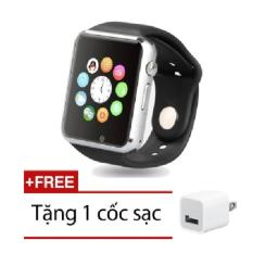 Mua Đồng Hồ Thong Minh Smartwatch Uwatch W88 Đen Tặng 1 Cốc Sạc Mới