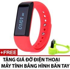 Hình ảnh Đồng hồ vòng tay thông minh I5 plus + tặng giá đỡ bàn tay