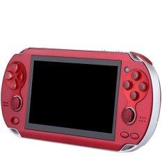 Hình ảnh Trò Chơi Điện Tử Cầm Tay 8 gb 4.3 inch 2 Phím Support Video Game 2017 Tích Hợp Máy Bộ ảnh (màu đỏ) -Quốc Tế