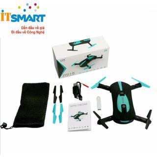 Drone camera selfies điều kiển smartphone Flycam Sport TonyTec (xanh đen) thumbnail