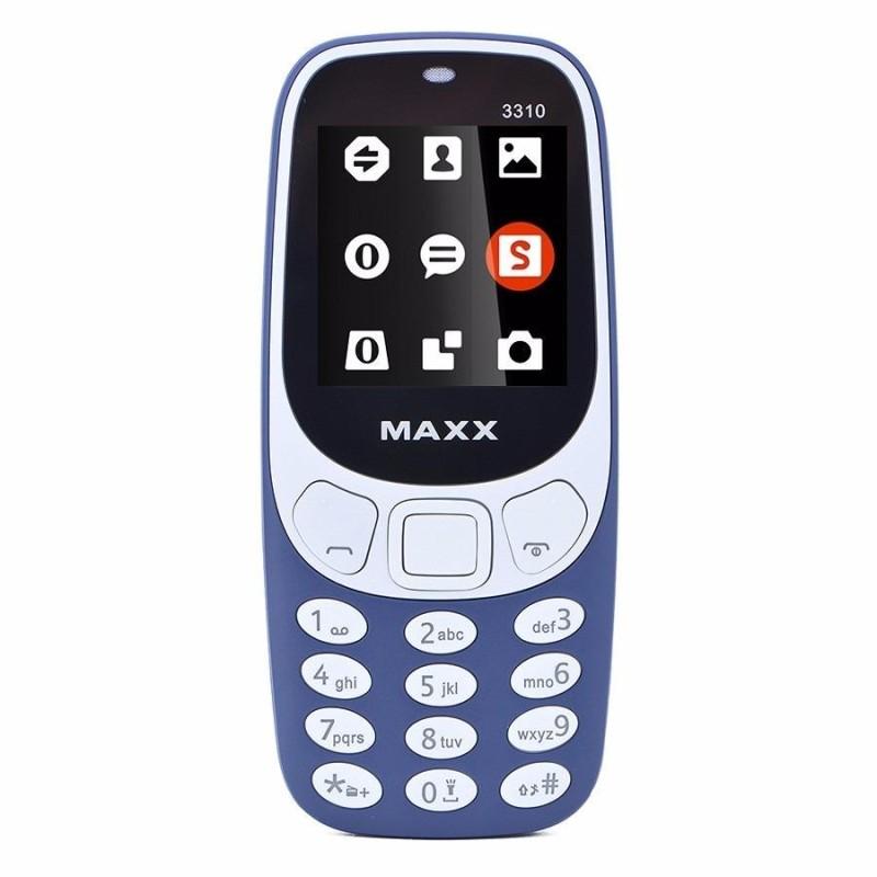 ĐTDĐ MAXX N3310 2017 CLASSIC 2 SIM (Xanh đen)