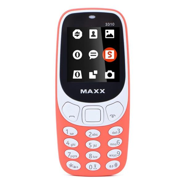 ĐTDĐ MAXX N3310 CLASSIC 2 SIM- ĐỎ