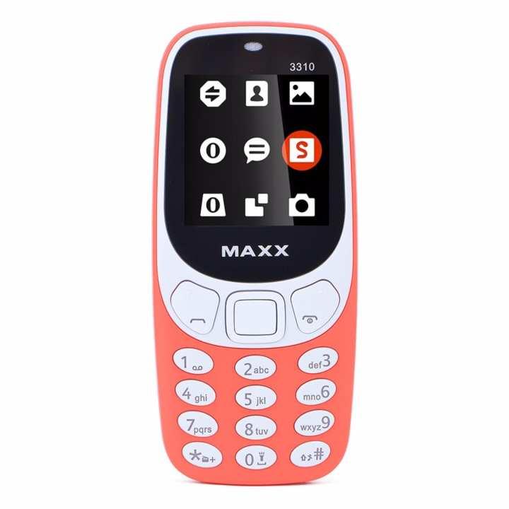 ĐTDĐ MAXX N3310 Classic 2 Sim ( Đỏ)