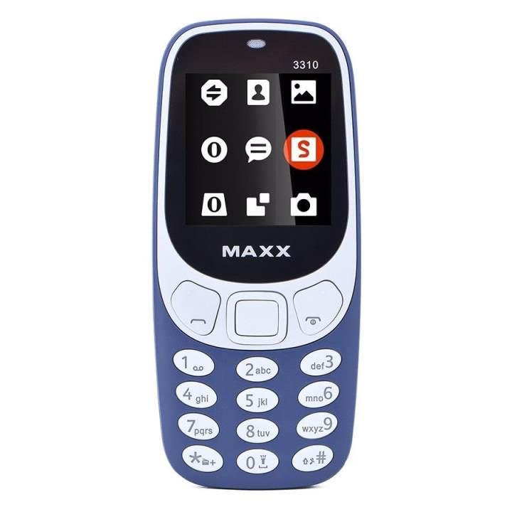 ĐTDĐ MAXX N3310 Classic 2 Sim ( Xanh Đen)