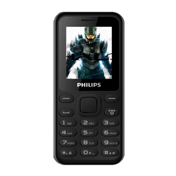 ĐTDĐ Philips E105 2 Sim (Đen) - Hãng phân phối chính thức