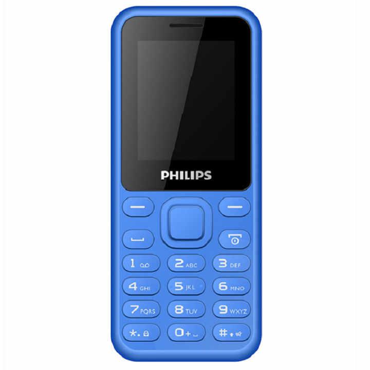 ĐTDĐ Philips E105 2 SIM ( Xanh ) - Hãng phân phối chính thức