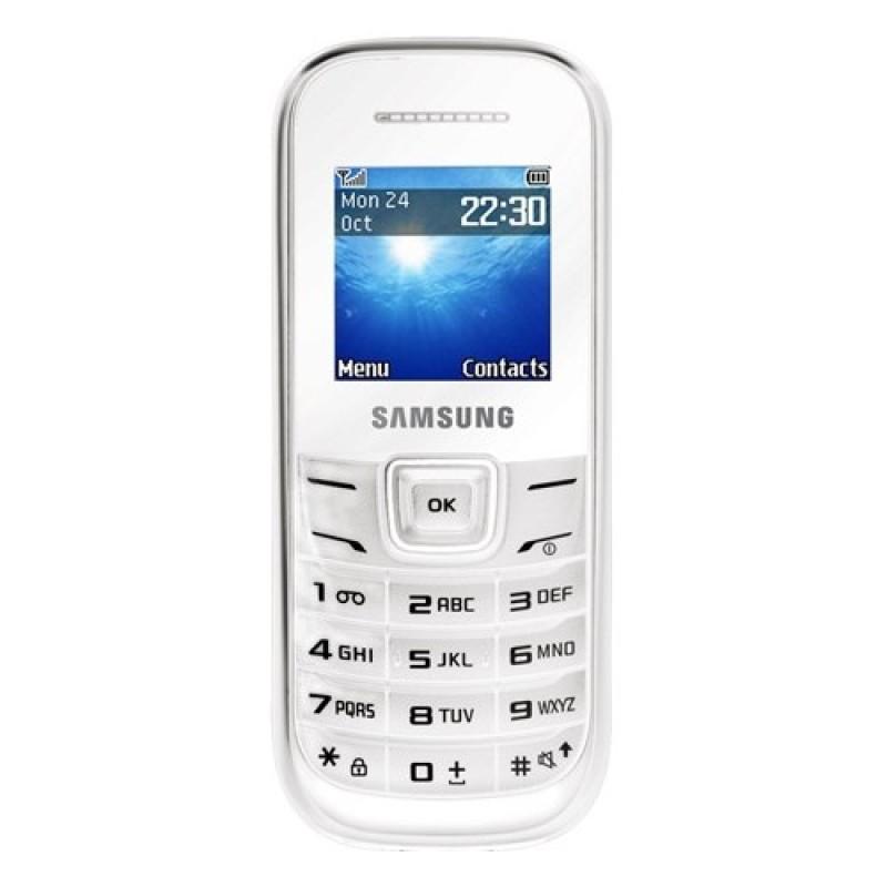 ĐTDĐ Samsung E1200 (White) - Hàng nhập khẩu