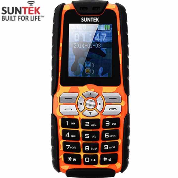 ĐTDĐ Suntek A8 Plus 2 SIM kiêm pin sạc dự phòng 18.000mAh (Cam)-Hàng nhập khẩu