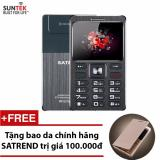 Đtdđ Suntek Satrend V6 Kiem Tai Nghe Bluetooth Đen Tặng Bao Da Chinh Hang Satrend Hà Nội