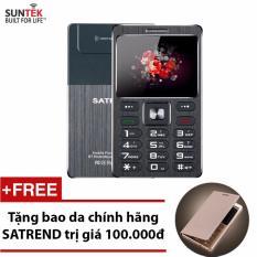 Giá Bán Đtdđ Suntek Satrend V6 Kiem Tai Nghe Bluetooth Đen Tặng Bao Da Chinh Hang Satrend Suntek Mới