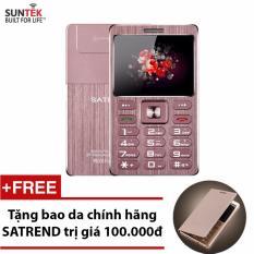 Bán Đtdđ Suntek Satrend V6 Kiem Tai Nghe Bluetooth Hồng Tặng Bao Da Chinh Hang Satrend Rẻ