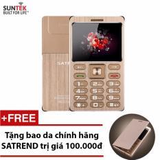 Bán Đtdđ Suntek Satrend V6 Kiem Tai Nghe Bluetooth Vang Tặng Bao Da Chinh Hang Satrend Rẻ
